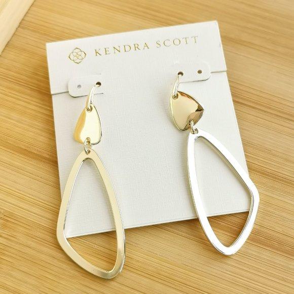Kendra Scott Kira Drop Earrings In Gold